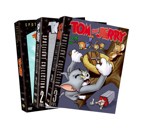 Tom and Jerry Spotlight Collection: Vol. 1-3 (3-Pack) by TOM AND JERRY