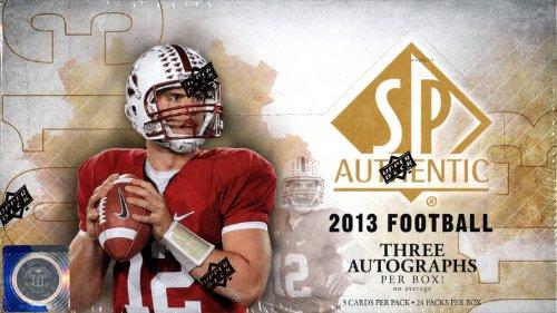 【超特価】 2013 Upper 2013 Deck SP AuthenticフットボールHobbyボックス Upper SP B00IVTQ2HM, 焼きまんじゅうshop  田中屋製菓:bab3e2f6 --- arianechie.dominiotemporario.com