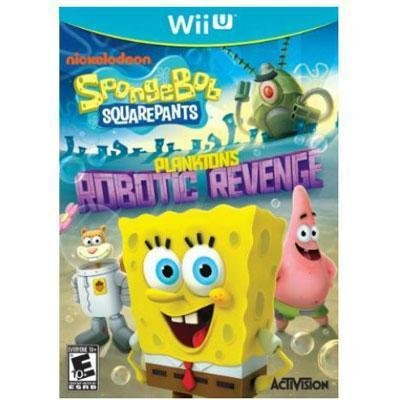 SpongeBob Plankton Reveng WiiU (Please see item detail in description)
