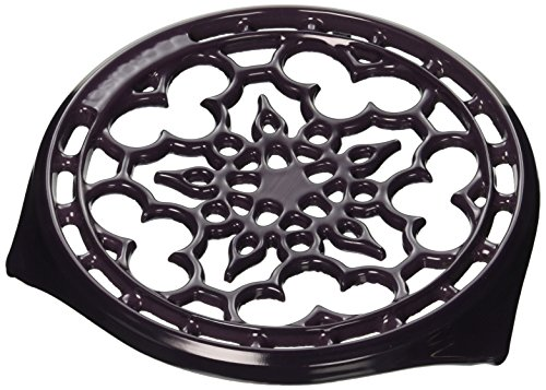 Le Creuset Enameled Cast-Iron Deluxe Round Trivet, 9-Inch, (Le Creuset Round Trivet)