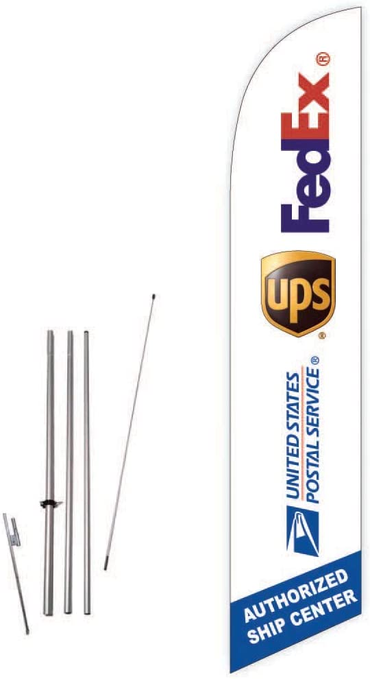 Tune Up Two 2 Swooper Feather Flag Kits