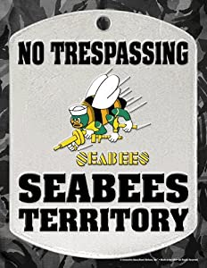 Innovative Ideas Seabees Territory Novelty Signs by Innovative-Ideas
