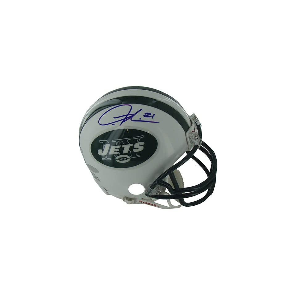 Tomlinson Signed Steiner Football Helmet Mini Sports Collectibles