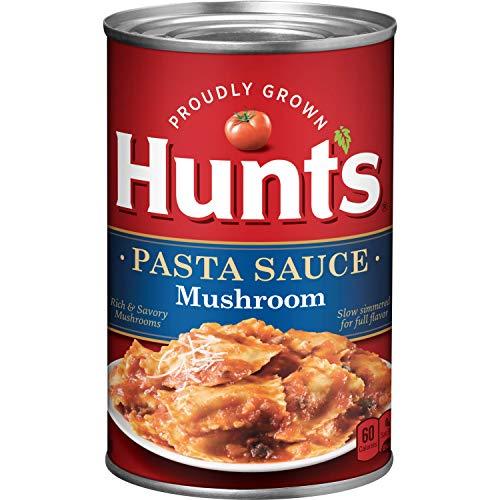 (Hunt's Mushroom Pasta Sauce, 24 oz, 12 Pack)