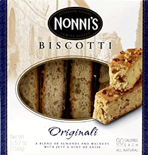 product image for Nonnis Original Biscotti Cookie, 6 per pack -- 12 packs per case.