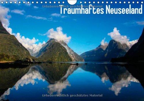Traumhaftes Neuseeland (Wandkalender 2014 DIN A4 quer): Atemberaubende Aufnahmen von der Nord- und Südinsel (Monatskalender, 14 Seiten)