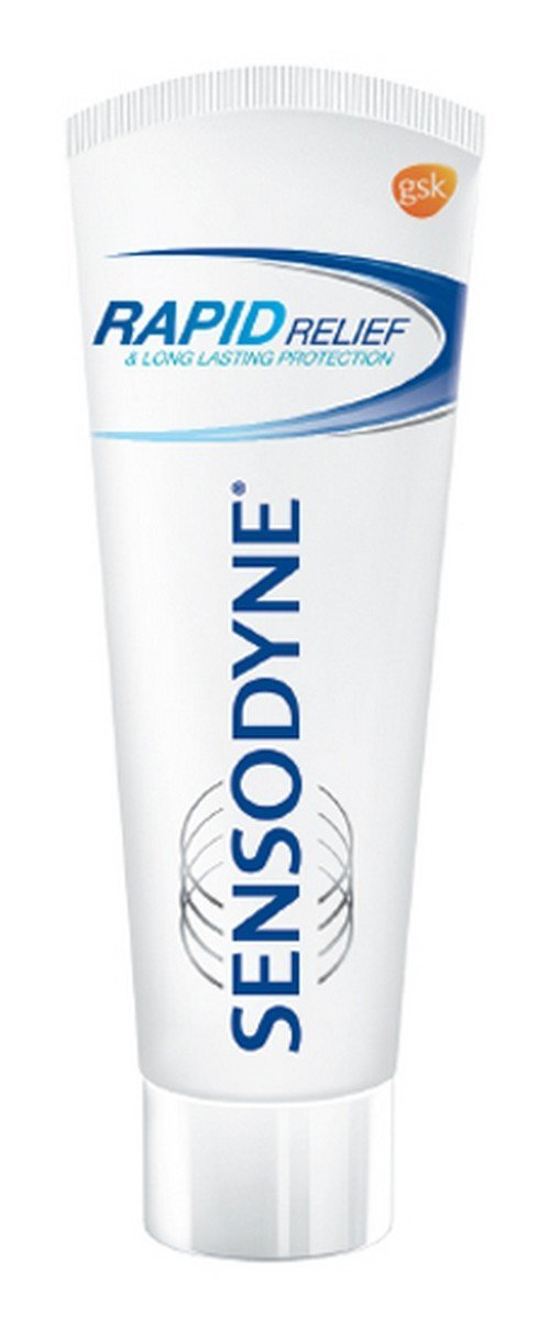 Sensodyne Sensitive Toothpaste Rapid Relief - 80 gm Pack of 2