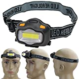 Headlamps - Outdoor Lighting Head Lamp 12 Mini Cob Led Headlight Fishing Reading Activities White Light Flash - D2s Hats H7 Red Black 2005 04-06 Trailblazer Camping And
