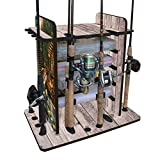 Best Bass Fishing Poles - Rush Creek Creations 38-3009 14 Fishing Rod Rack Review