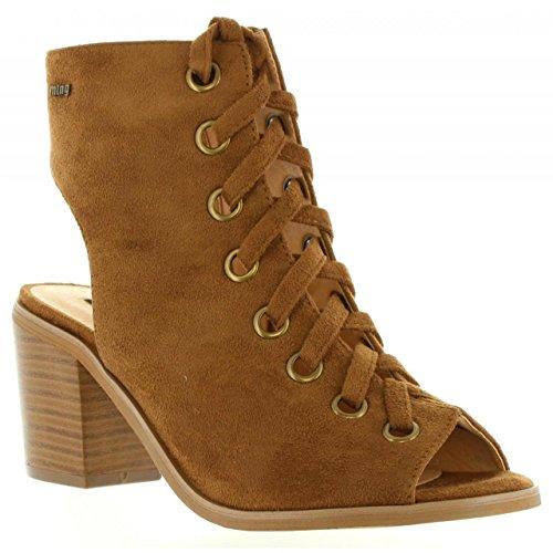 Zapatos de tacón de Mujer MTNG 53542 C15217 MICRO CUERO