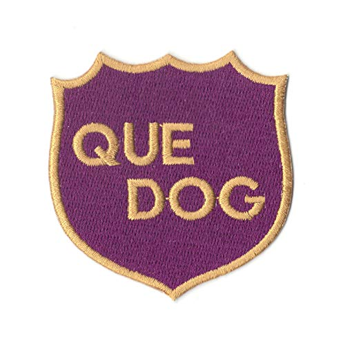 (Omega Psi Phi Box Que Dog Shield College Fraternity Logo Iron On Patch)