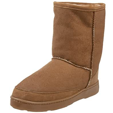 Amazon.com | Minnetonka Men's Short Sheepskin Pug Boot