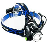 Lufei LED Super Bright Head Torch Headlight - Ultimate in camping headlamps & great addition to camping and hiking equipment.