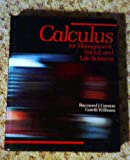 Calculus for Management, Social and Life Sciences, Cannon, Raymond J., Jr. and Williams, Gareth, 0697067629