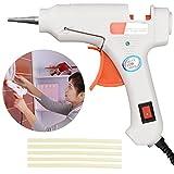 TOOLTOO 20W Hot Melt Glue Gun High Temperature Glue Gun Melting Gun with 5 Glue Sticks, Suitable for DIY Craft and Quick Repairs