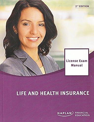 life and health insurance license exam manual dr andrew c temte rh amazon com