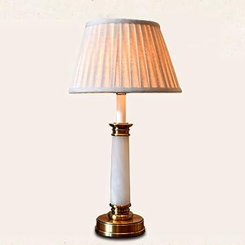 Natürliche Jade Tischlampe Moderne Luxus Einfache Schlafzimmer Nachttisch  Lampen Modell Zimmer Gericht Elegant