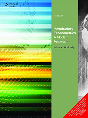 Introductory Econometrics A Modern Approach by J.F. WOOLDRIDGE (6-Jul-1905) - Shopping Tempe Az