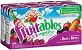 juice box berry - Apple & Eve Fruitables, Berry Berry Juice, 6.75 Fluid-oz., 8 Count, Pack of 5