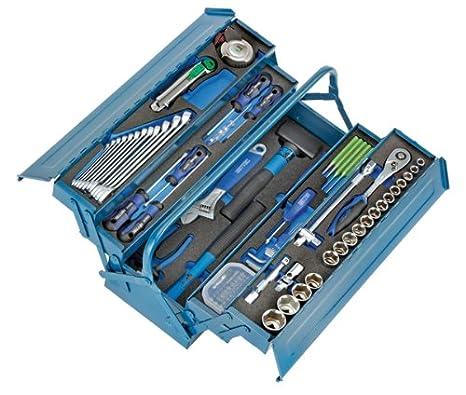 Heyco/Heytec 50807694500 - Caja de herramientas (chapa de acero, 5 compartimentos,