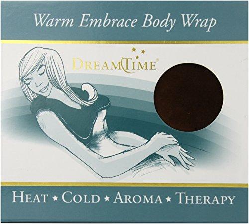 DreamTime Warm Embrace Body Wrap, Chocolate Brown