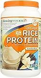Growing Naturals (NOT A CASE) Organic Rice Protein Vanilla Blast
