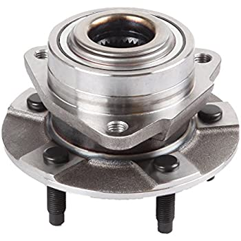 513190 x2 Both Front Wheel Hub and Bearing Assembly for Saturn Vue 5 Lug without ABS Pair Brand New