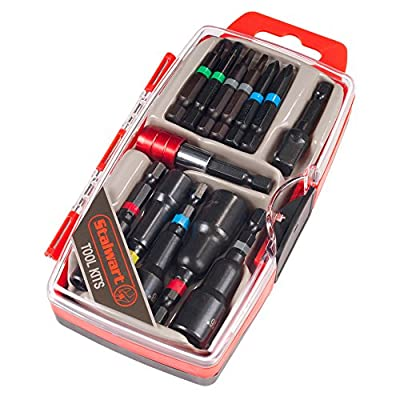 Stalwart 75-HT4013 Power Bit and SAE Nut Driver Set (13 Piece) from Stalwart