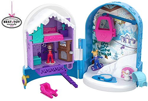 (Polly Pocket Big Pocket World, Snow Globe )