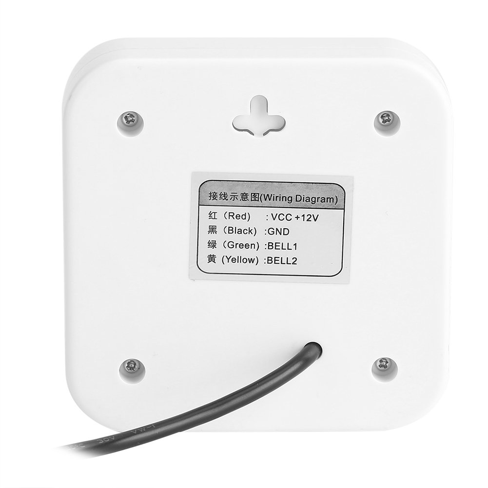 Dc 12v Wired Doorbell Door Bell Chime For Home Office Access Control Two Wiring Diagram System Zerodis