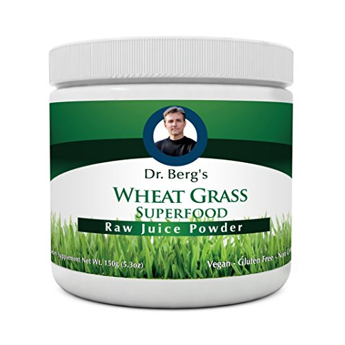 Wheat Grass Juice Powder (Wheat Grass Juice Powder - Raw & Ultra-Concentrated Nutrients - Rich in Vitamins, Chlorophyll, Trace Minerals & Amino Acids - 60 Servings - Gluten Free - Non-GMO - 5.3 oz (Solo Pack))