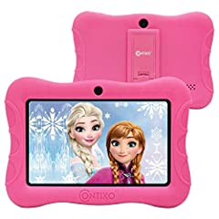 The Contixo V9-3 children's learning tablet comes in a variety of colors for boys and girls FULLY CAPABLE