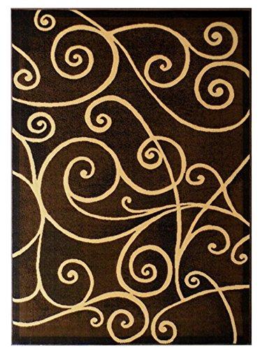 chocolate area rug - 8