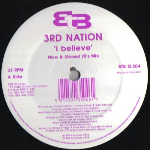 3Rd Nation   I Believe