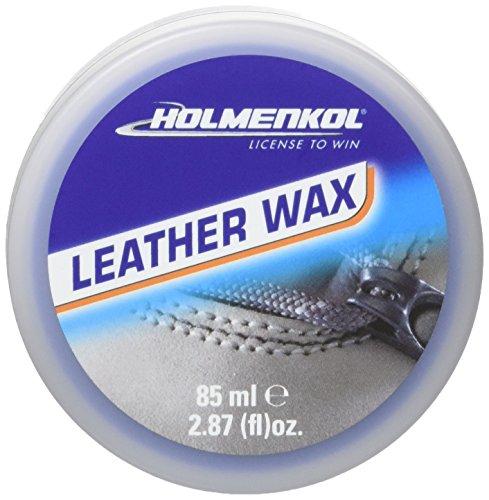 Holmenkol Natural Leather Wax piel cuidado, transparente, 75ml