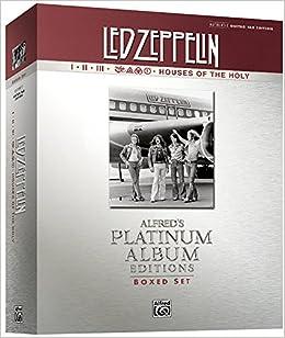 Led Zeppelin Platinum Box Set (I-V) (Alfred's Platinum Albums)