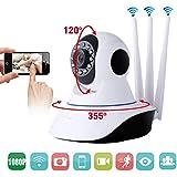 Telecamera IP Camera Nuovo Modello Smart Camera HD Wireless LED IR LAN motorizzata wifi rete Internet