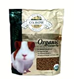 Oxbow Animal Health Guinea Pig Bene Terra Organic Food and Treats, 3-Pound