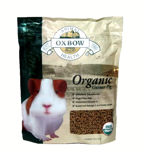 Oxbow Animal Health Guinea Pig Bene Terra Organic Food and Treats, (Organic Pigs)