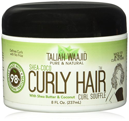 (Taliah Waajid Shea-Coco Curly Hair Curl Souffle Jar, 8 Ounce)