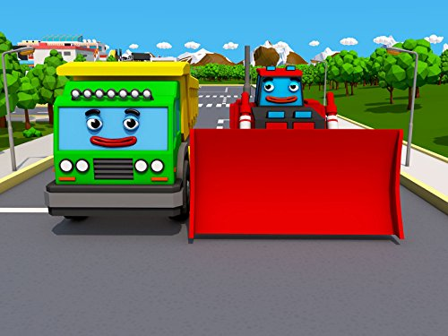 Cars Town: The Truck and the Bulldozer