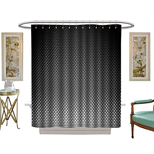 luvoluxhome Shower Curtain Collection by Realistic Background Wallpaper Texture Bathroom Decor Sets with Hooks W72 x L72