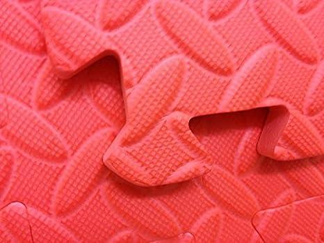 Rosso tappetini in schiuma eva per interlocking jigsaw sqm