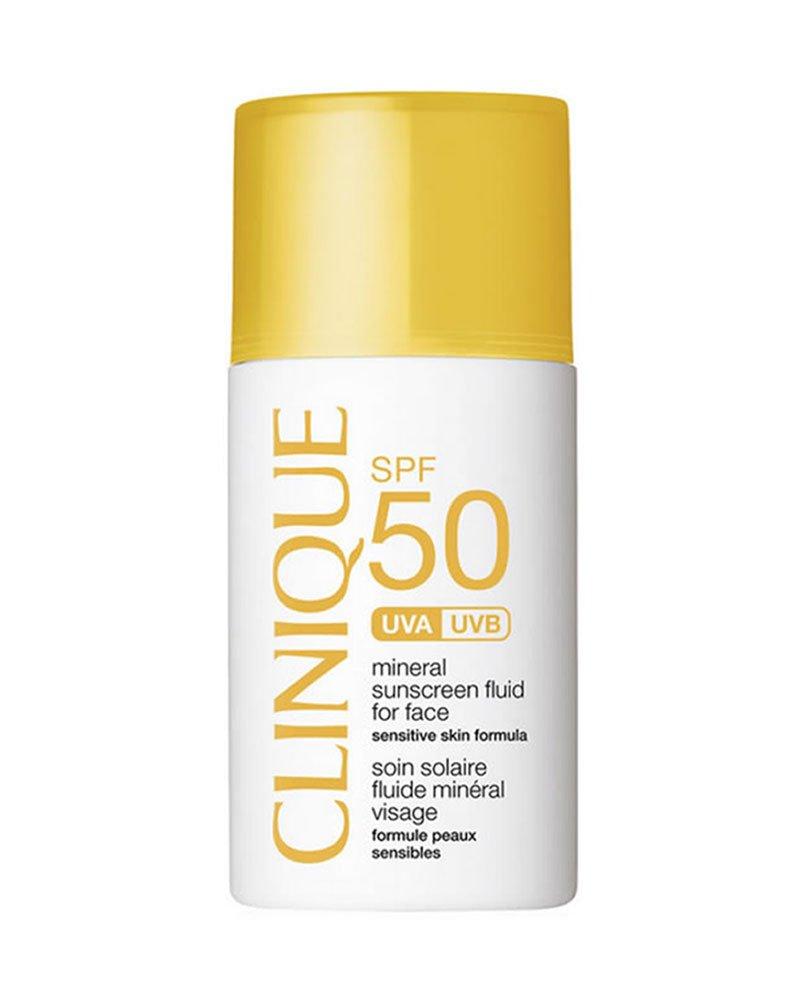 CLINIQUE, Fluido Protettivo Solare Minerale Viso, Unisex, SPF50, 30 ml 0020714776114 CLI00514