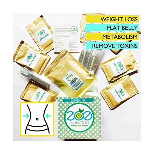 Zoe Nutrition For Life One Month Detox For Flushing Out Toxins