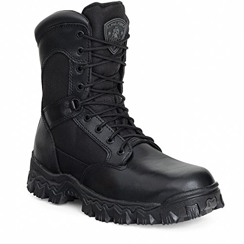 Steniga Mens 8 Alphaforce Dragkedja Wp Komposittull Tå Boot-6173