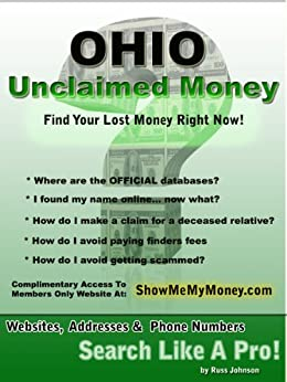 Ohio unclaimed money how to find free missing money for How to get money to buy land