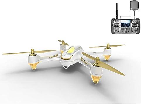 Opinión sobre HUBSAN H501S X4 Brushless Drone GPS 1080P HD Cámara FPV Cuadricóptero con H906A Transmisor Blanco Pro Versión(2 Baterias de Drone)