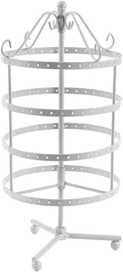 YOSEMITE Metal Jewelry Rack 144 Holes Jewelry Earrings Display Stand Holder Organizer