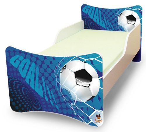 Best For Kids Babybett Kinderbett Jugendbett 70x140 mit Matratze 10 cm und Lattenrost SONDERANGEBOT !!! (Goal)